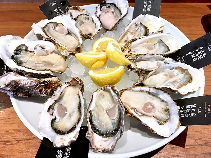 POWER OYSTERフェア 旬の生牡蠣を全品半額